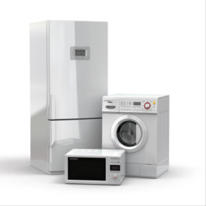 Home-appliances-Refrigerator-washing-machine-microwave